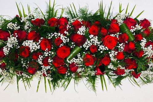 Coffin Sprays - Roses