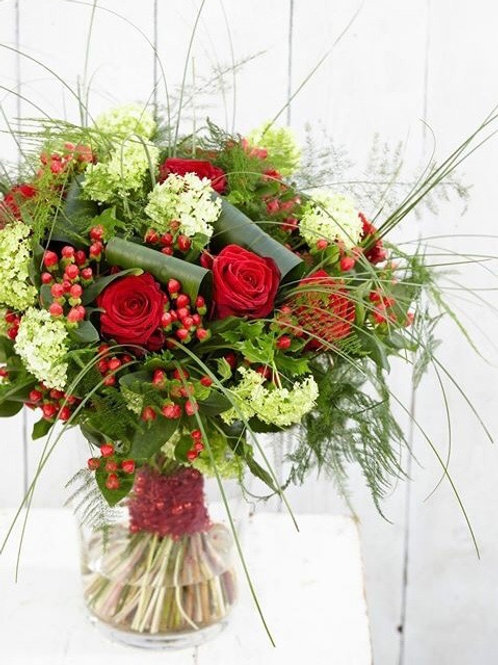50 Luxury Red Rose Bouquet