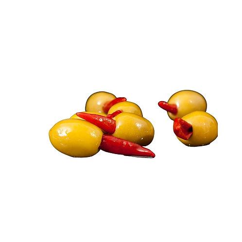 Chili Stuffed Olives