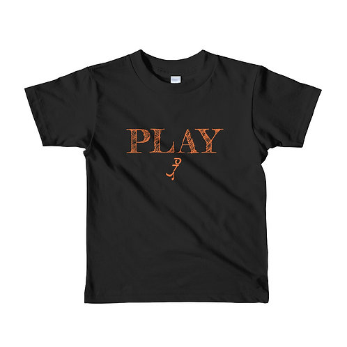 Kids (2-6 yrs old) Play T-Shirt