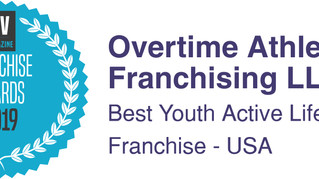OTA Named Best Youth Active Lifestyle Franchise