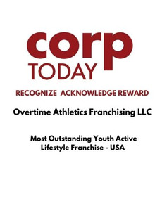 OTA Awarded 'Most Outstanding Youth Active Lifestyle Franchise' by Corp Today Magazine