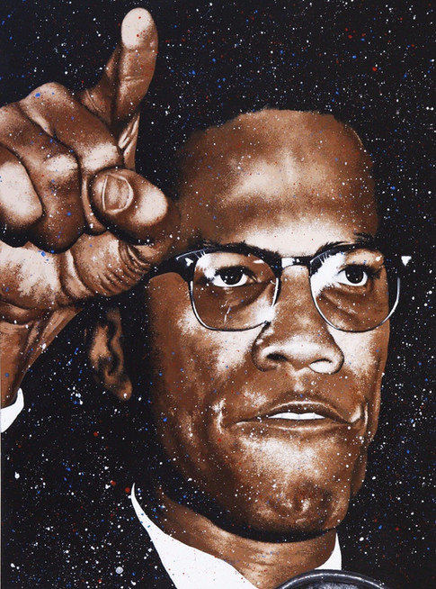 Malcolm X (Sold)
