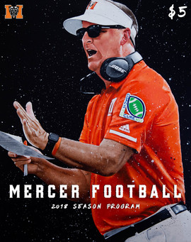 2018 Season Program Cover