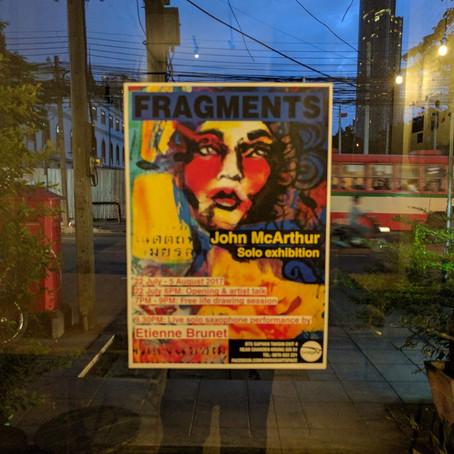 Fragments - John McArthur exhibition featuring Etienne Brunet
