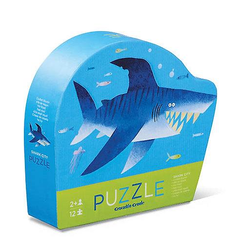 Mini puzzel - Shark