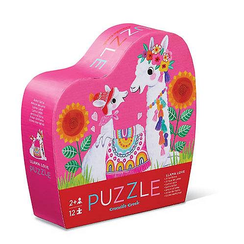 Mini puzzel - Lama Liefde