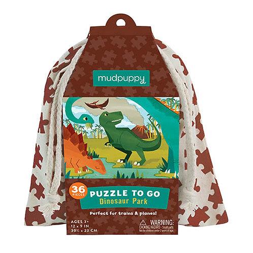 Puzzel To Go - Dino