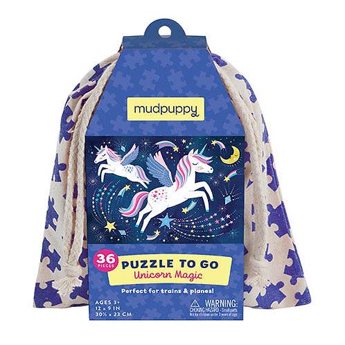 Puzzel To Go - Unicorn
