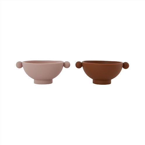 Oyoy Tiny Inka Bowl ( set van 2 )