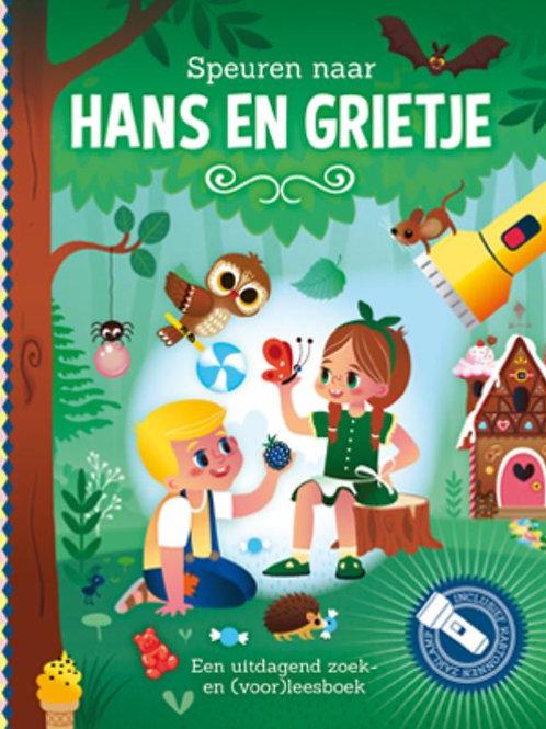 Zaklampboek - Speuren naar Hans & Grietje