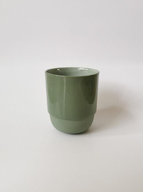 Hella Duijs koffie mok groen