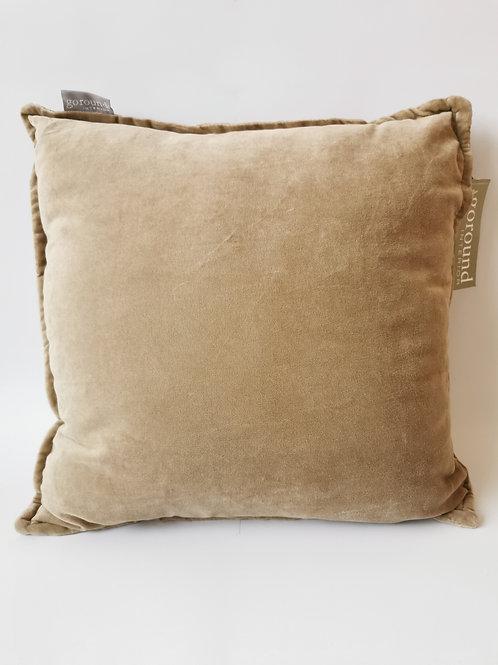 Goround Interior - Kussen cotton velvet beige