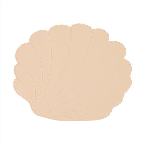 Oyoy Seashell placemat vanilla