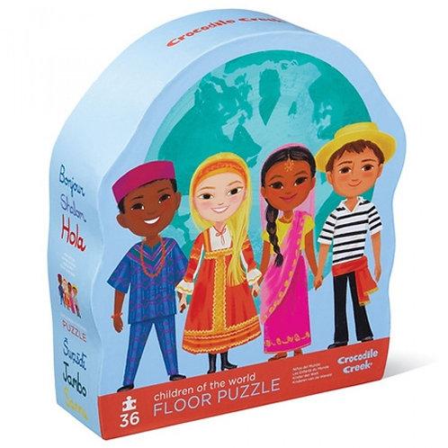 Puzzel - Children of the world