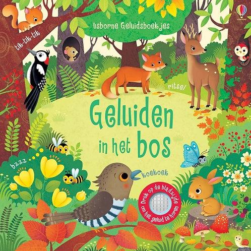 Geluiden in het bos (geluidenboekje)