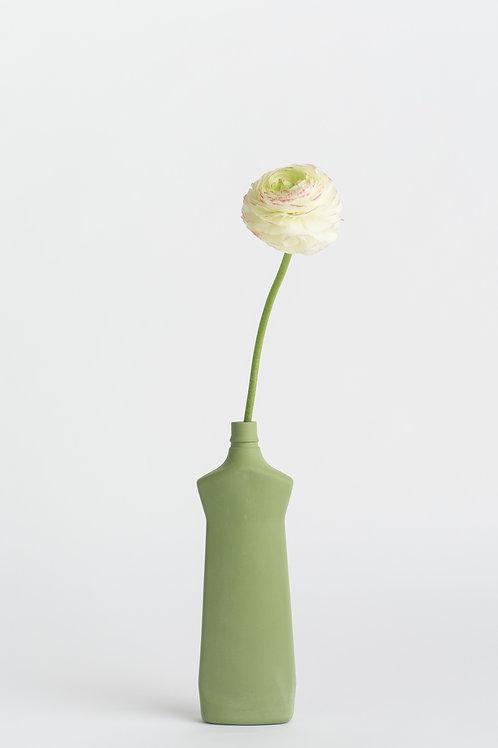 Foekje Fleur bottle vase #1 dark green
