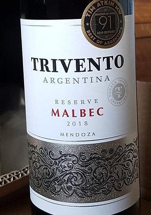 TRIVENTO MALBEC RESERVE 2018