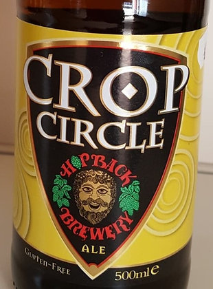 CROP CIRCLE - HOP BACK BREWERY