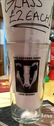 Badgers Pint Glass