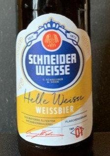 SCHNEIDER WEISSE Helle Weisse.