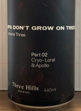 HOPS DON'T GROW ON TREES