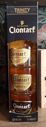 CLONTARF IRISH WHISKEY MINITURE GIFT SET
