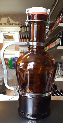 2Ltr Glass Beer Growler
