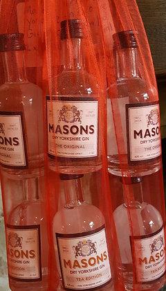 MASONS GIN MINATURE DUO - 2 X 50ml