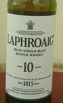 LAPHROAIG 10 YEAR OLD WHISKY