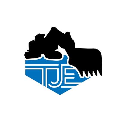 TJE Logo svart + farge hvit bakgrunn.png