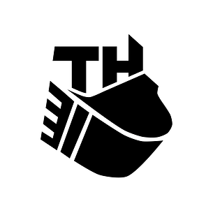 T H Maskin AS - excavator logo design By Malin Steffen Berg