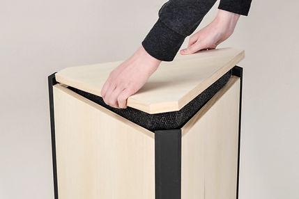 Vinkl multifunctional furniture møbeldesign - design by Malin Steffen Berg