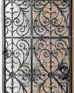 ornamentos de um portão antigo
