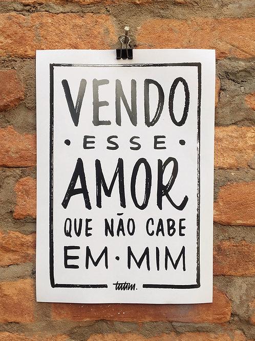 Vendo Amor (A4)