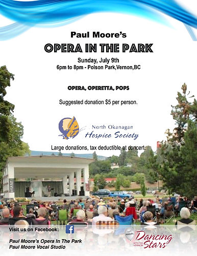 Paul Moore's Opera In The Park