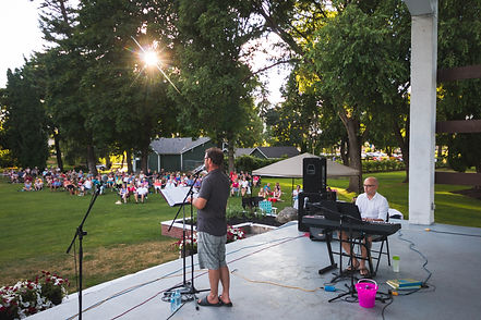 Opera In The Park 2017 Paul Moore and Graham Vink