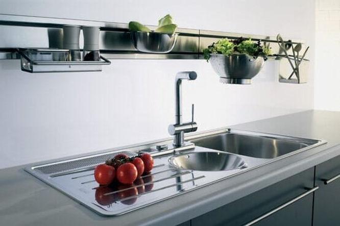 lavandino cucina design da incasso