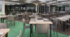 lido spiaggia soverato, con grande sala ristorante pizzeria