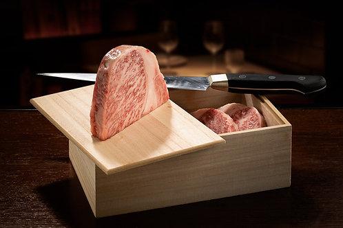 Vazia de Kobe (Japão) (Box 3 Bifes   Aprox. 500 Gr)