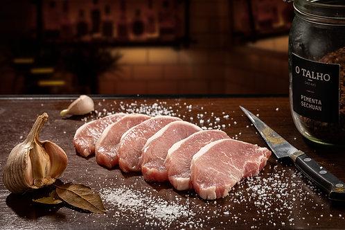 Lombo de Porco Preto Ibérico Fatiado (6 Fatias | Aprox. 600 Gr)