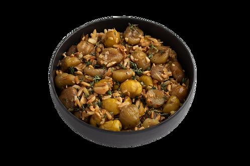 Castanhas Assadas com Amêndoas e Manteiga Noisette (Uni   Aprox. 500 Gr)