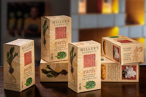 Crackers Millers Elements Earth (Uni | 100 Gr)