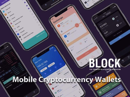 TUTORIAL: Mobile Cryptocurrency Wallets