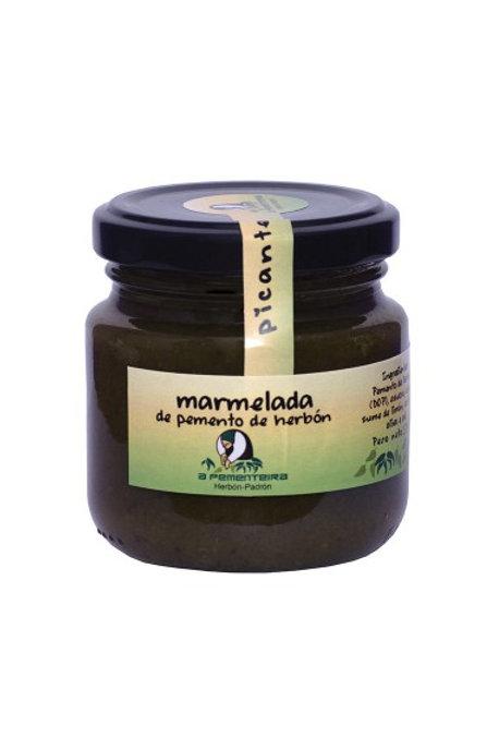 Mermelada de Pimientos de Herbón Picante 170 gr