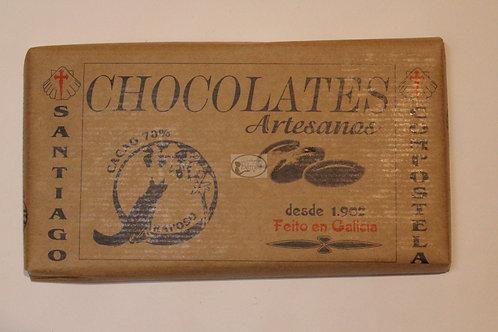 Chocolate Artesano Raposo puro 70% 250gr