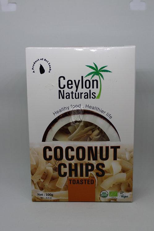 Chips de coco tostado 100gr