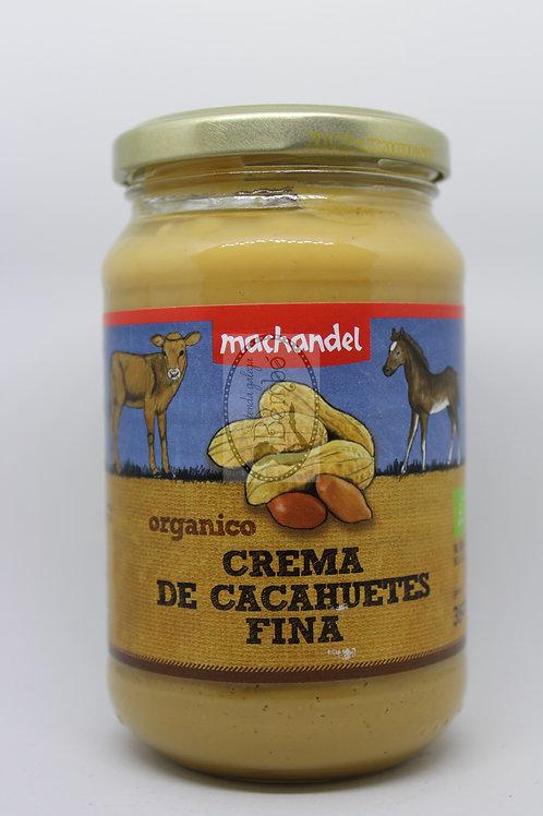 Crema De Cacahuete Ecológica Machandel 350g