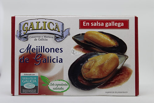 Mejillones de Galicia en salsa gallega