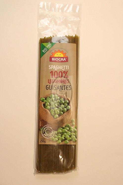 Spaghetti 100 % Guisantes 250 gr.